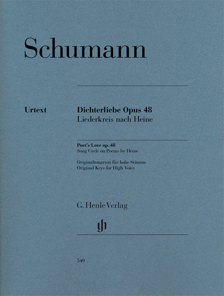 Dichterliebe for Voice and Piano, Op. 48