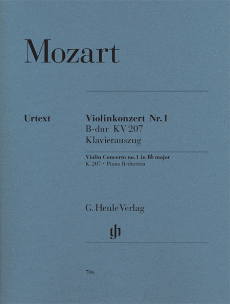Concerto No. 1 in B Flat Major K207