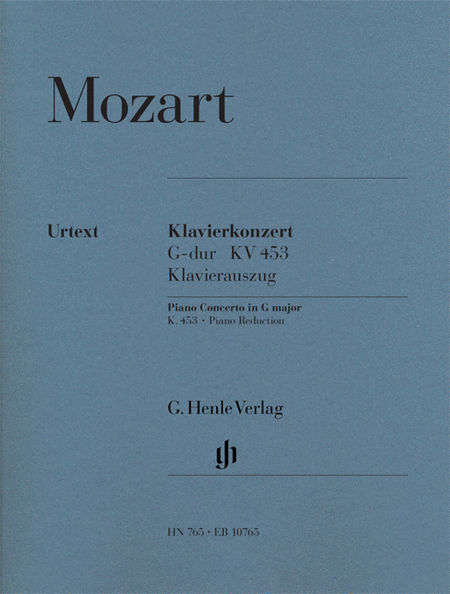 Concerto for Piano and Orchestra G Major K.453