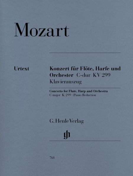 Concerto for Flute, Harp and Orchestra in C Major, K. 299 (297c)