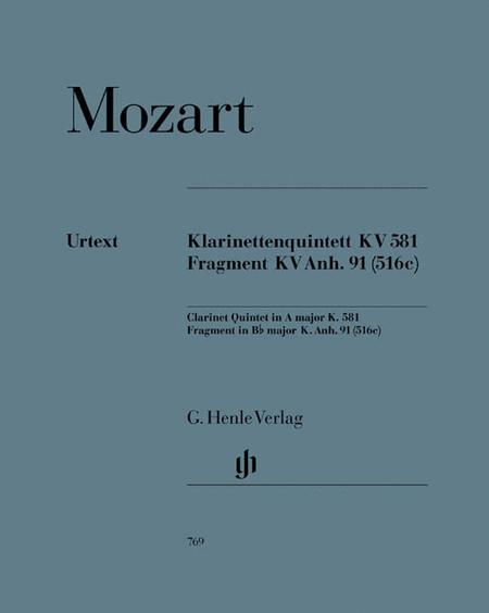 Clarinet Quintet in A Major K. 581
