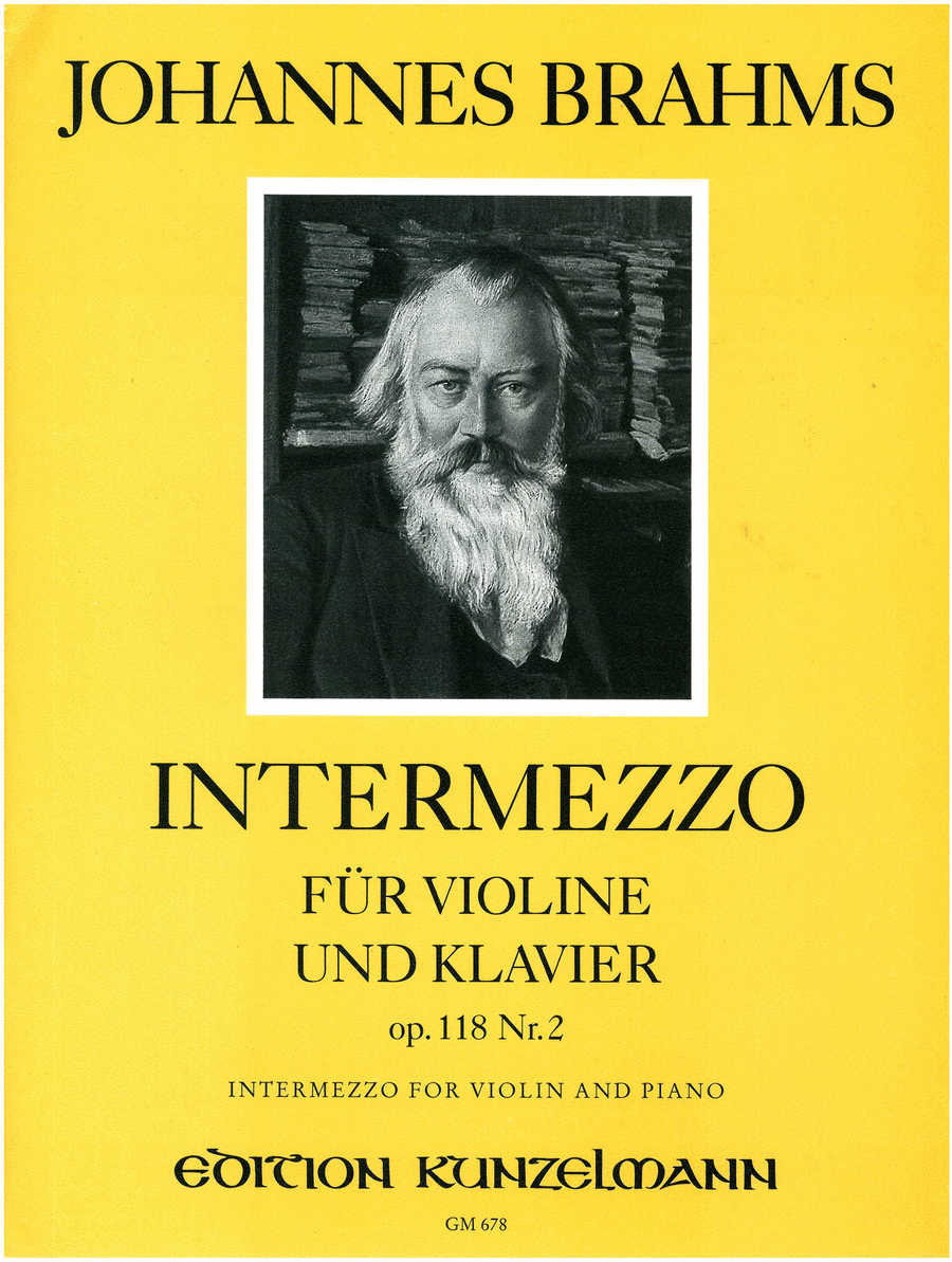 Intermezzo Op. 118 No. 2 in A Major