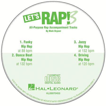 Let's Rap! 3 - Accompaniment CD