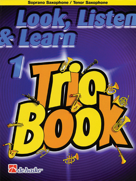 Look, Listen & Learn 1 - Trio Book