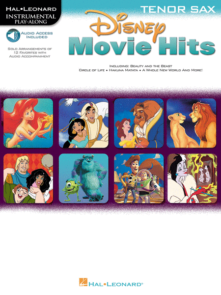 Disney Movie Hits for Tenor Sax