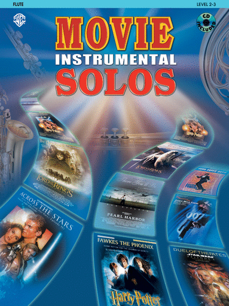 Movie Instrumental Solos - Flute (Book and CD)