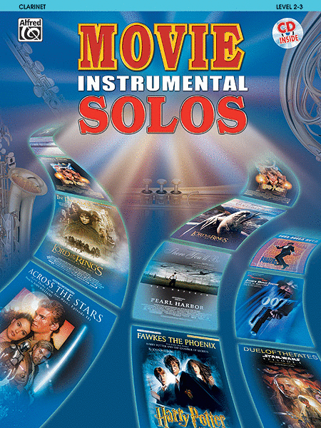 Movie Instrumental Solos - Clarinet (Book and CD)