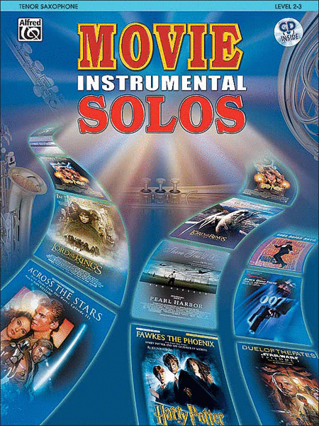 Movie Instrumental Solos - Tenor Sax (Book and CD)