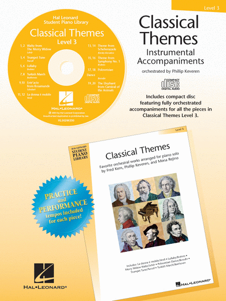 Classical Themes - Level 3 - CD
