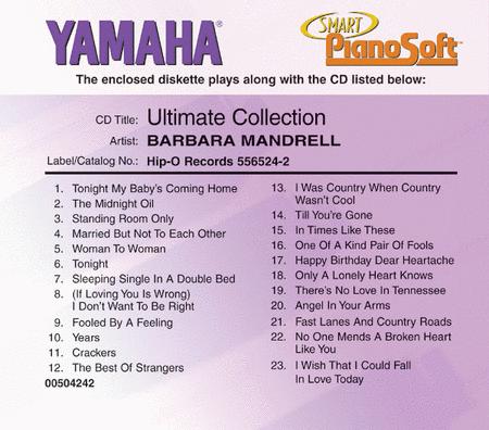 Barbara Mandrell - Ultimate Collection - Piano Software