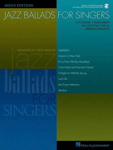 Jazz Ballads for Singers - Men's Edition