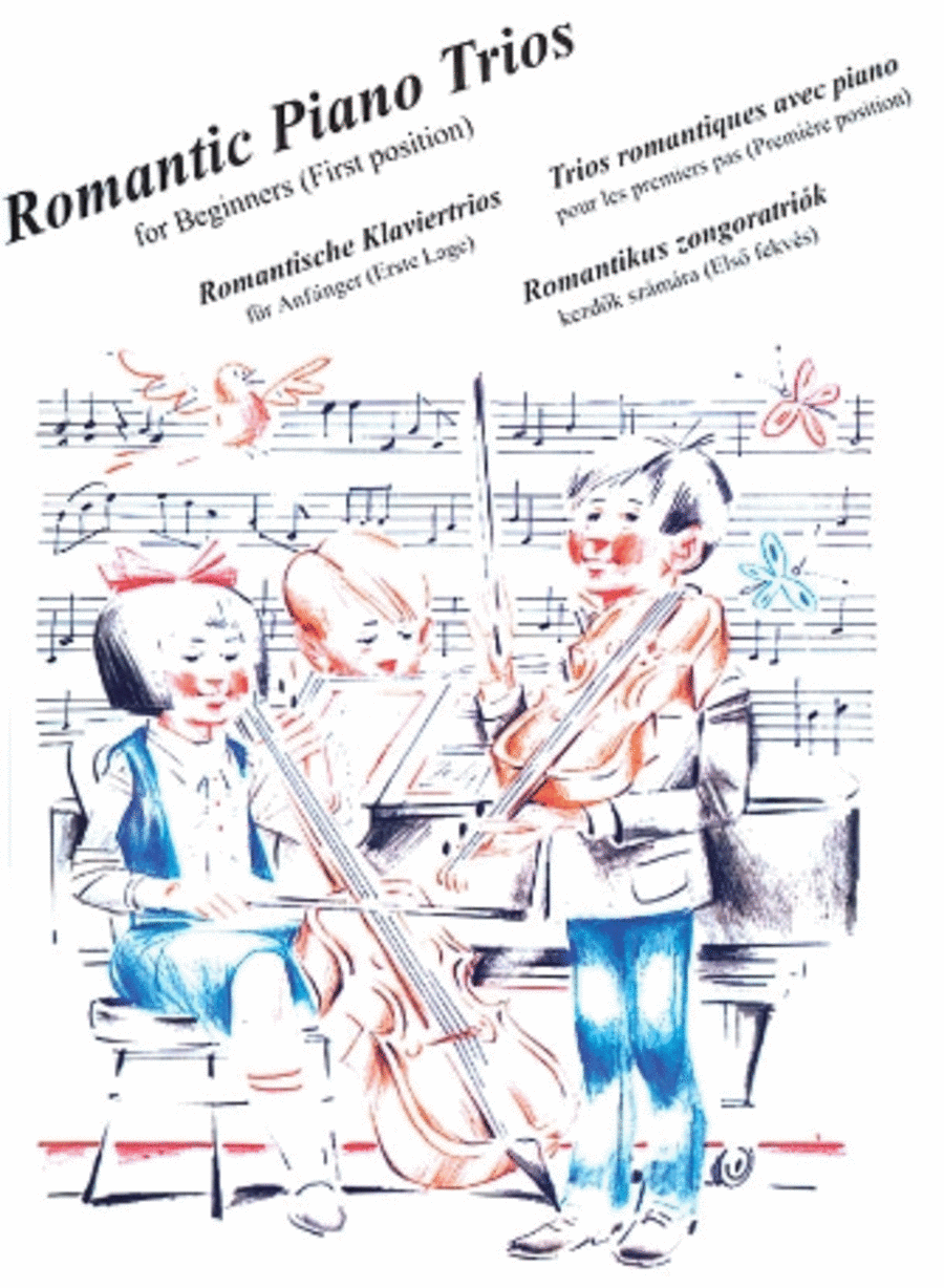 Romantic Piano Trios for Beginners