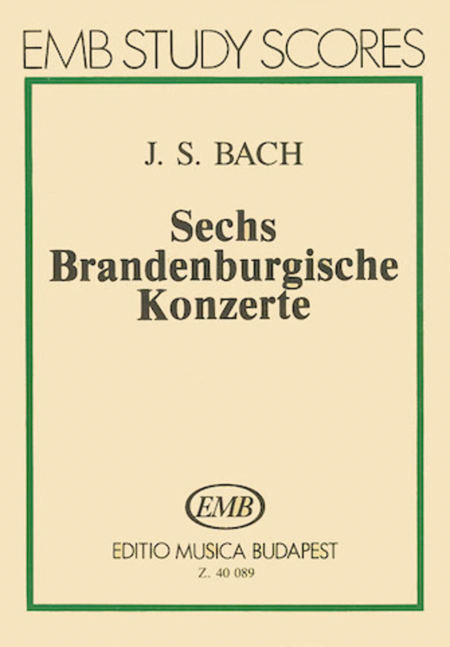 Six Brandenburg Concertos, BWV 1046-1051