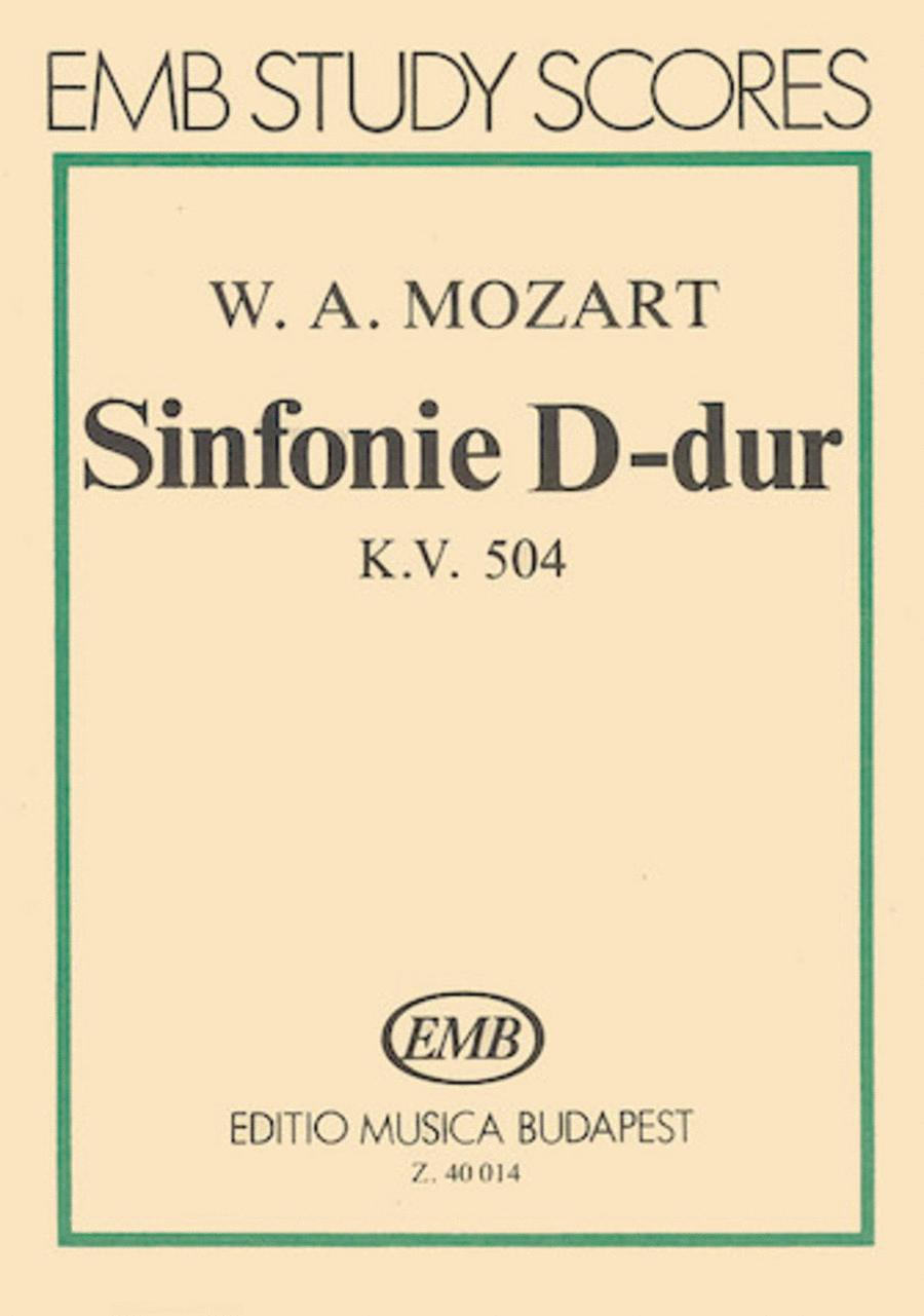 Symphony No. 38 in D Major, K. 504 Prague