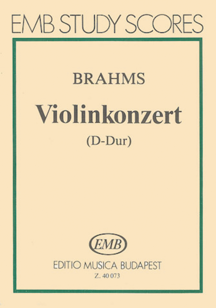 Concerto for Violin and Orchestra, Op. 77