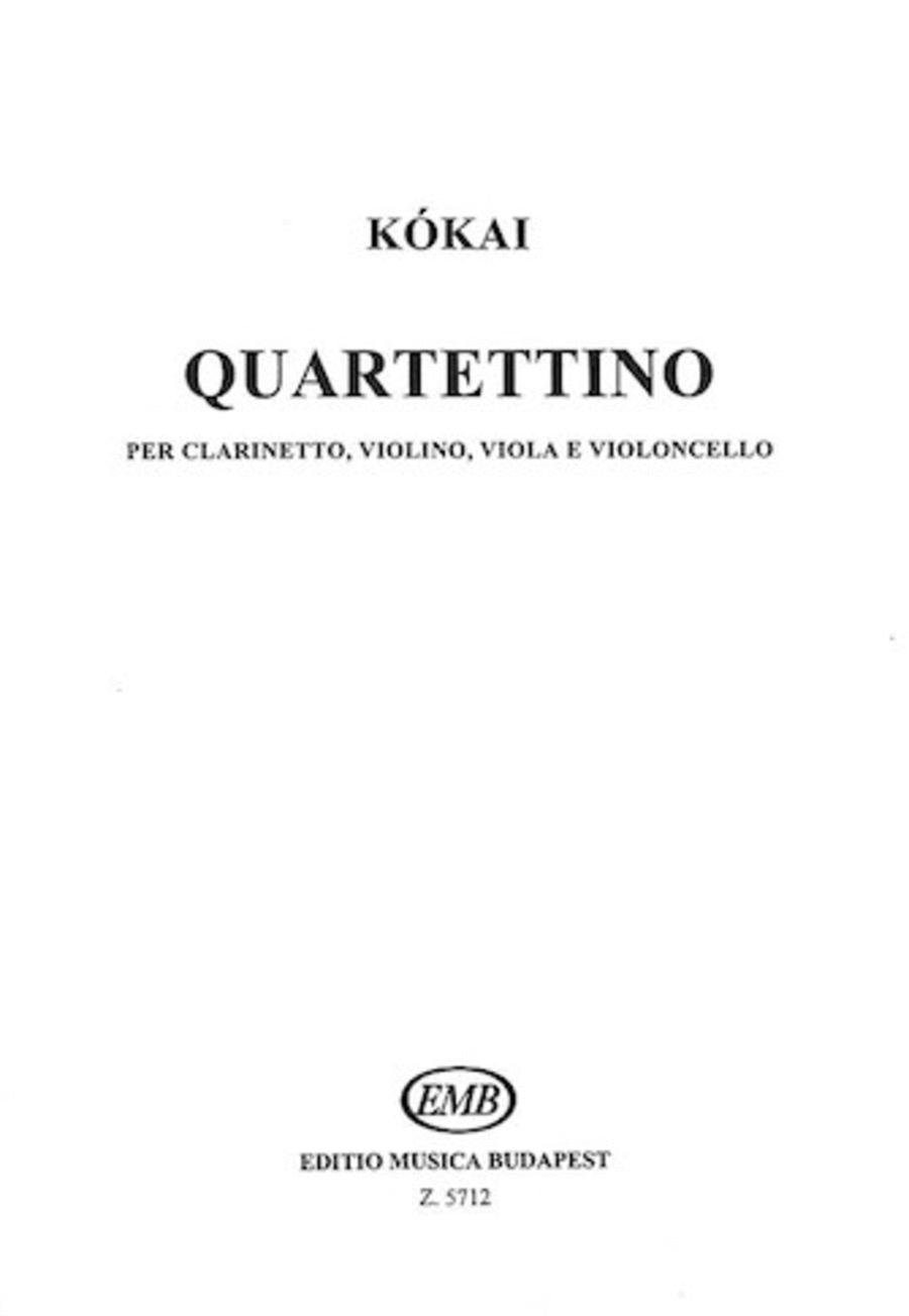 Quartettino for Clarinet, Violin, Viola & Violoncello