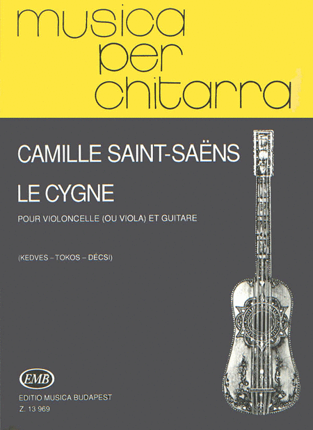 Le cygne for cello (or viola) and guitar