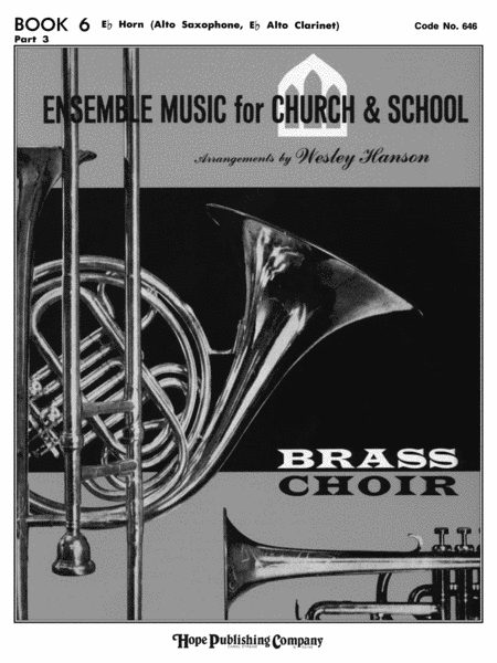 Ensemble Music For Church and School