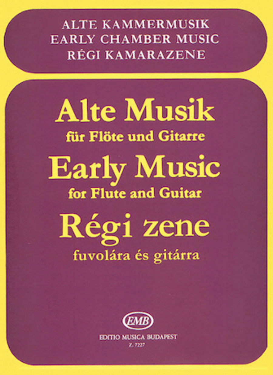Early Music for Flute and Guitar