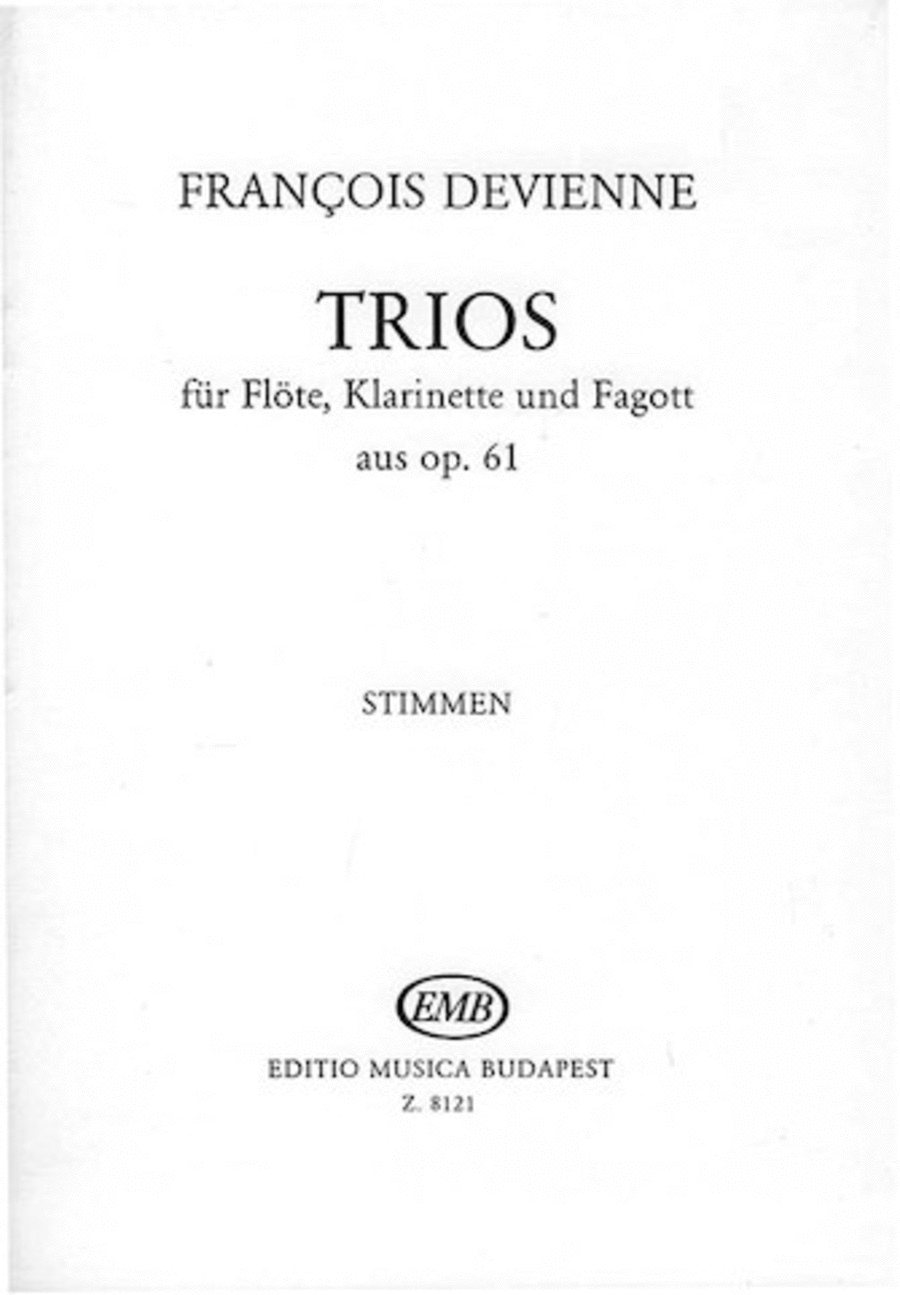 Trios for Flute, Clarinet, and Bassoon, Op. 61