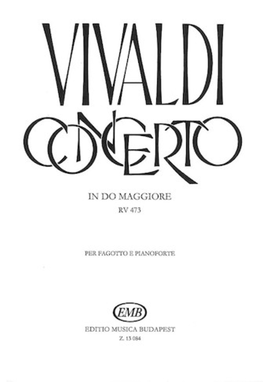 Concerto in C Major for Bassoon, Strings and Continuo, RV 473