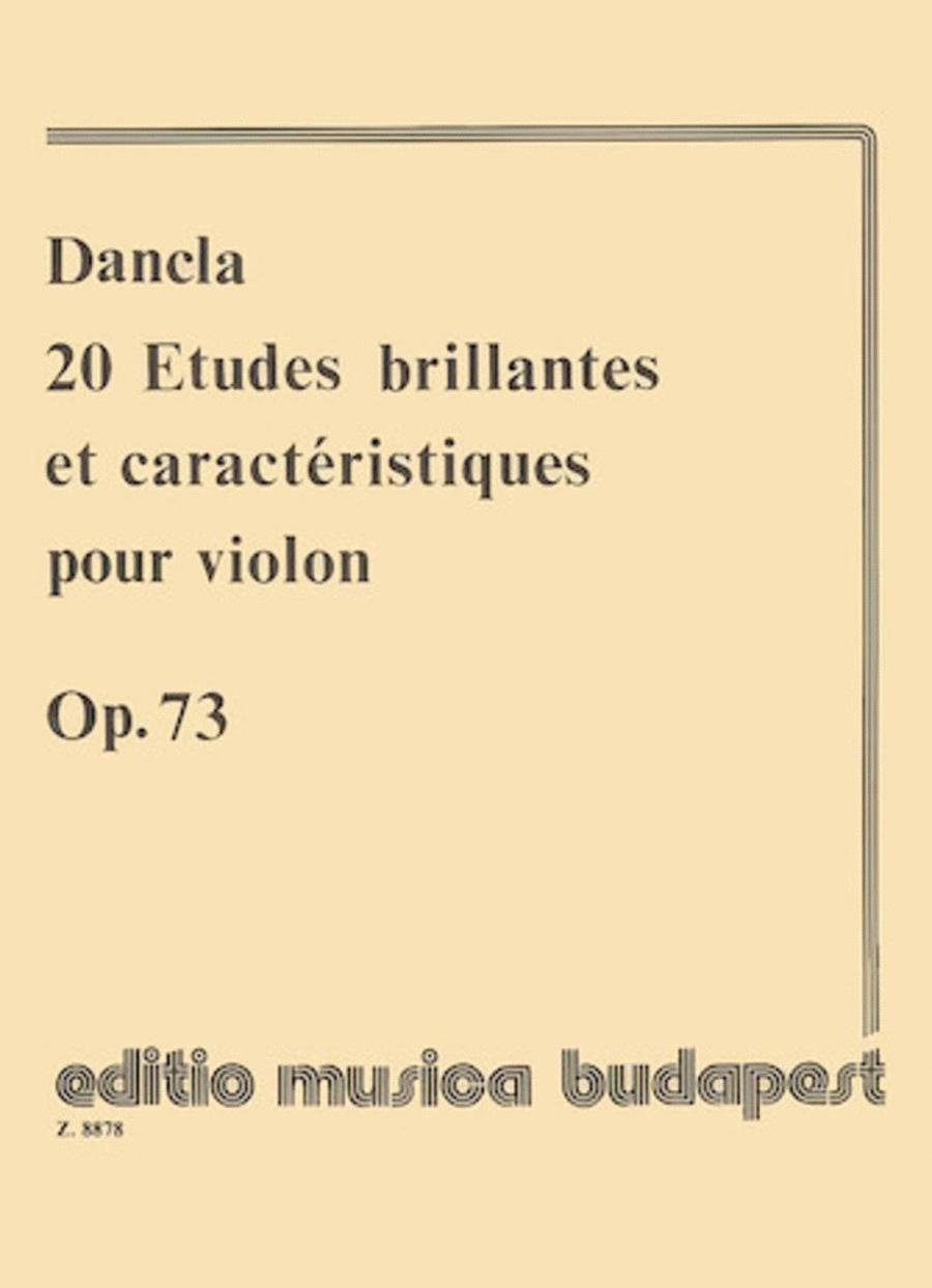 20 Etudes Brillantes & Caracteristiques, Op. 73