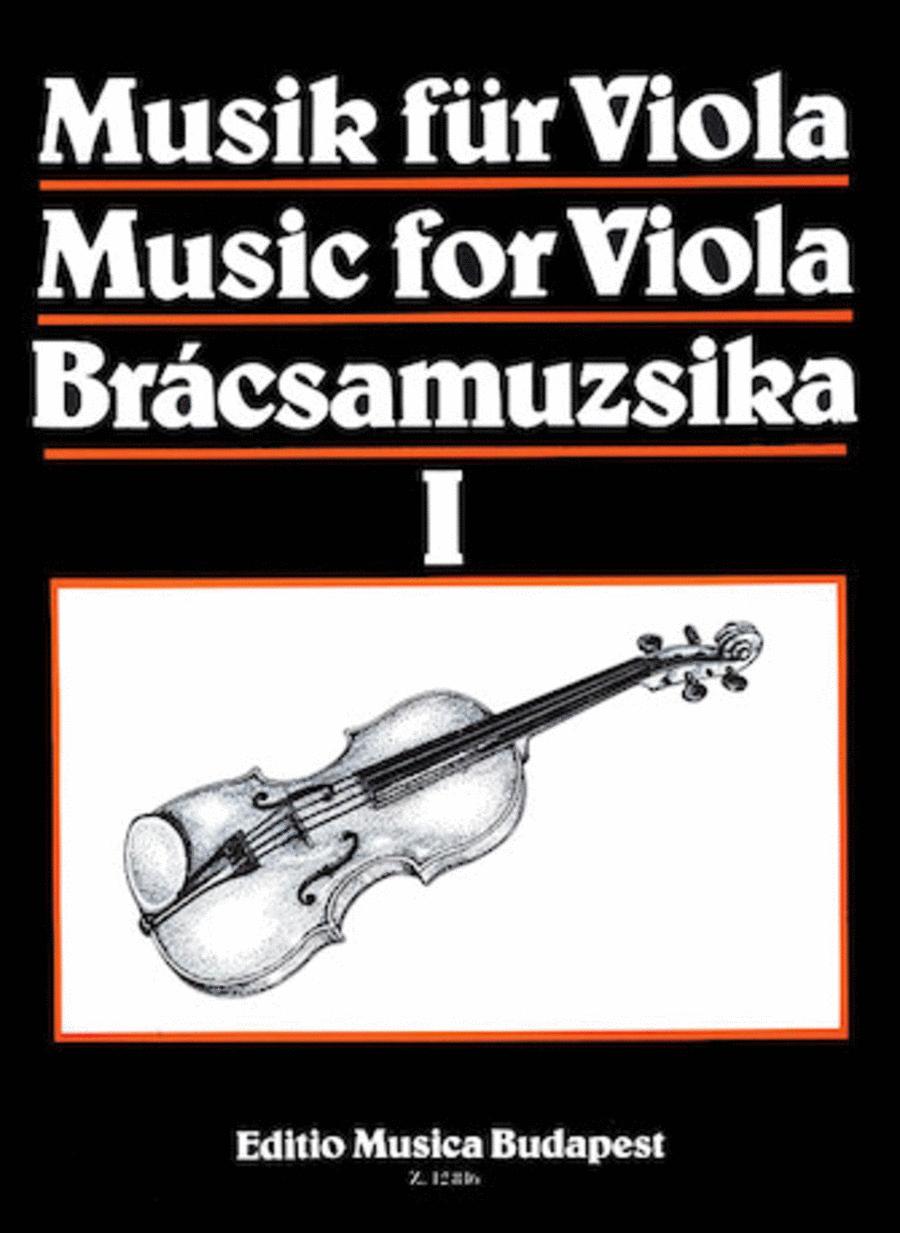 Music for Viola - Volume 1