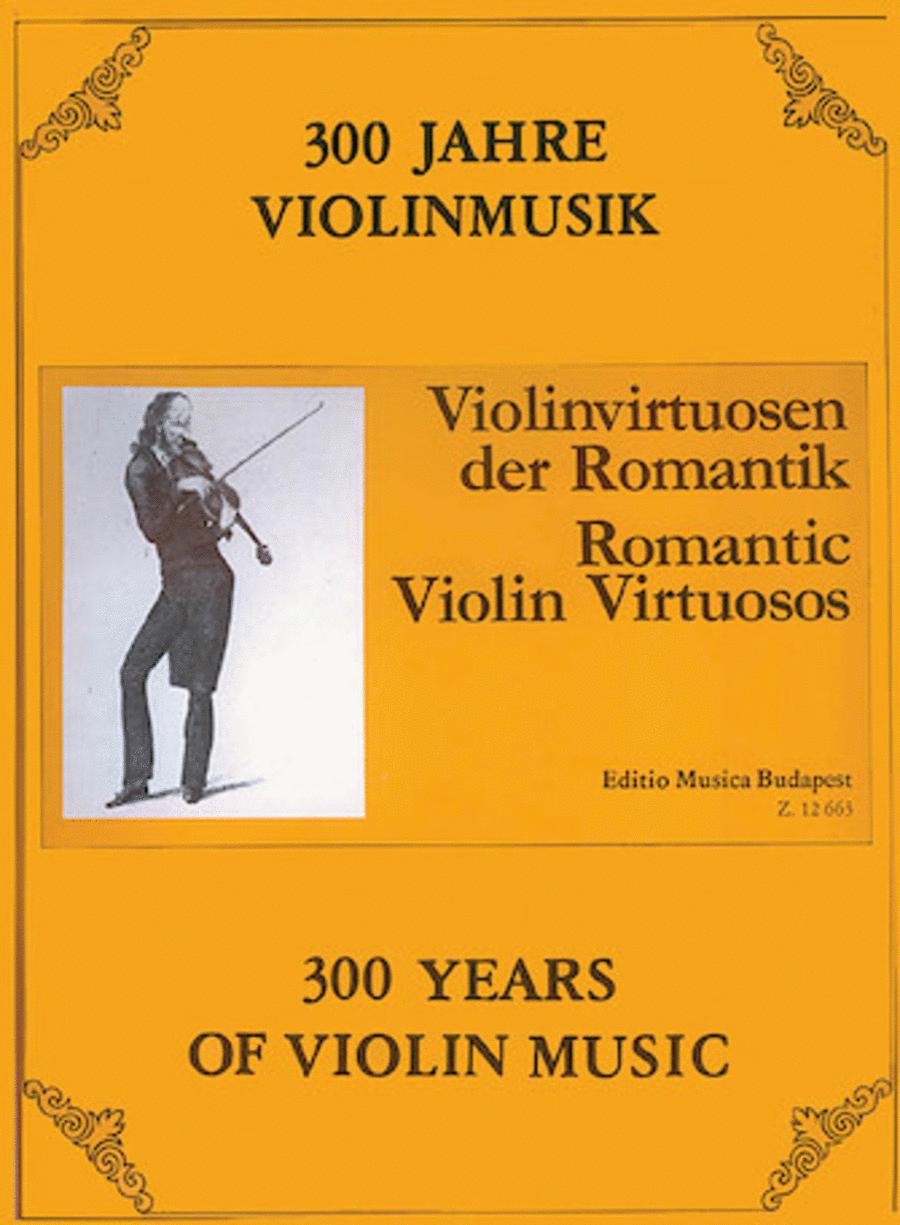 Romantic Violin Virtuosos
