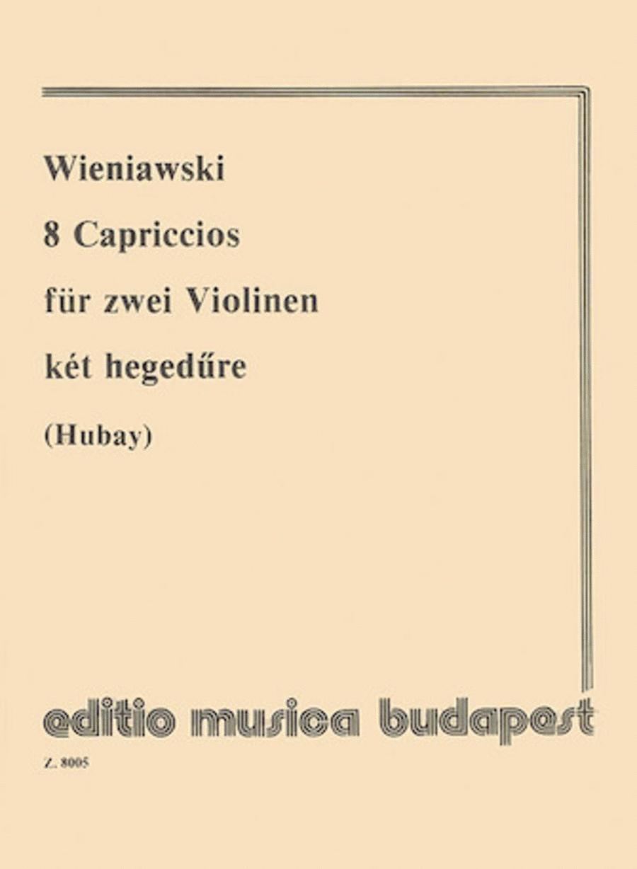 8 Capriccios for violin