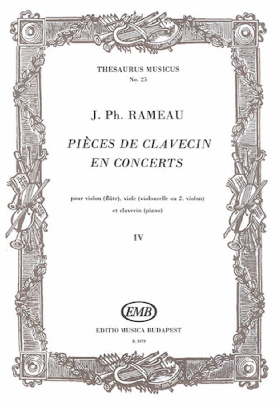 Pieces De Clavecin en Concerts - Volume 4