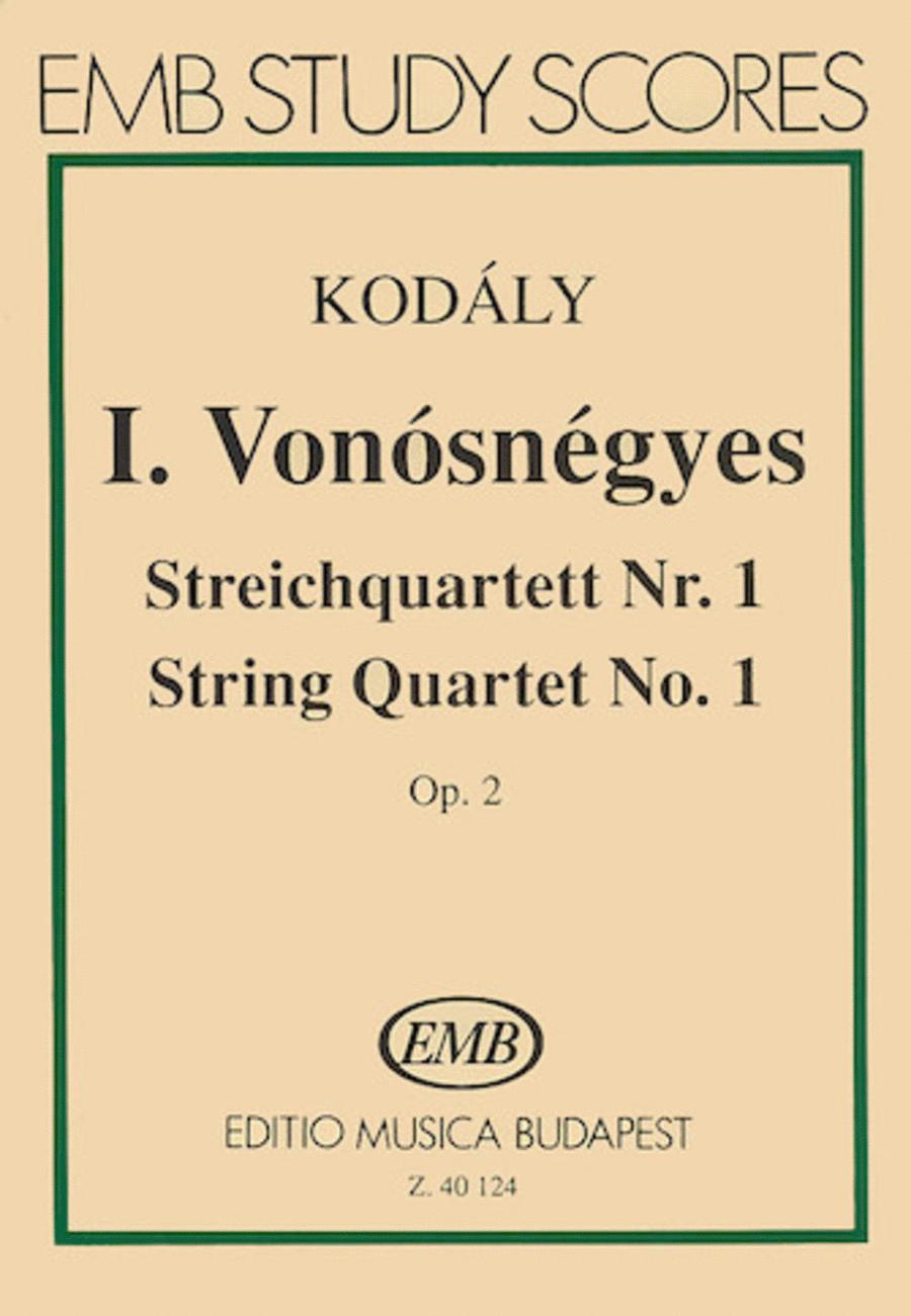 String Quartet No. 1, Op. 2