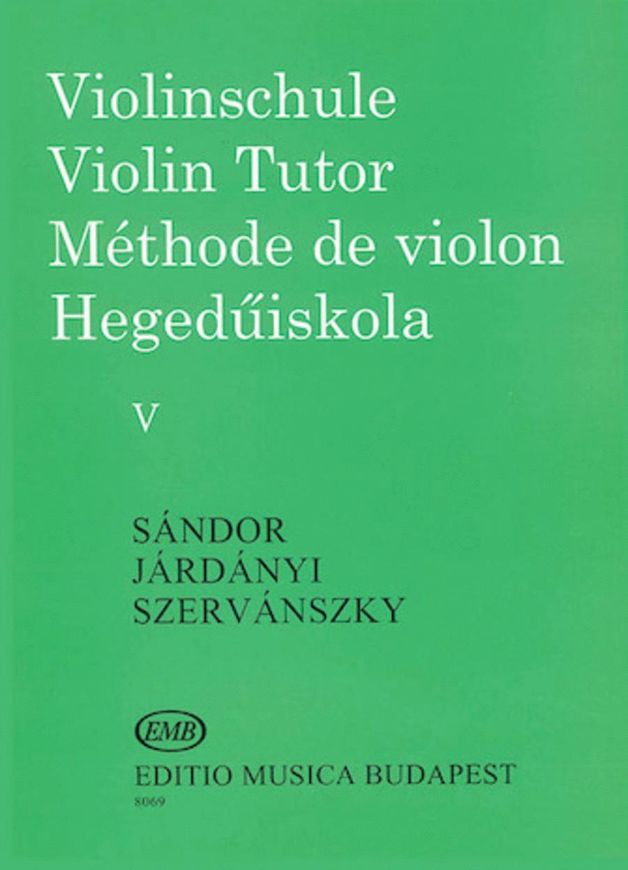 Violin Tutor - Volume 5