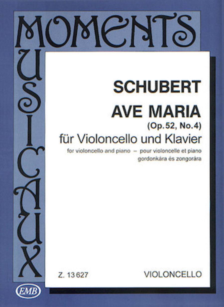 Ave Maria, Op. 52, No. 4