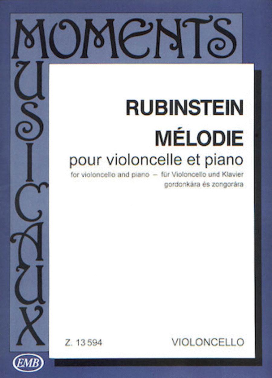 Melodie, Op. 3 No. 1