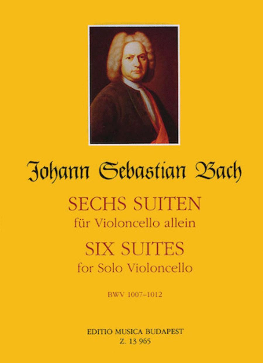 Six Suites, BWV 1007-1012