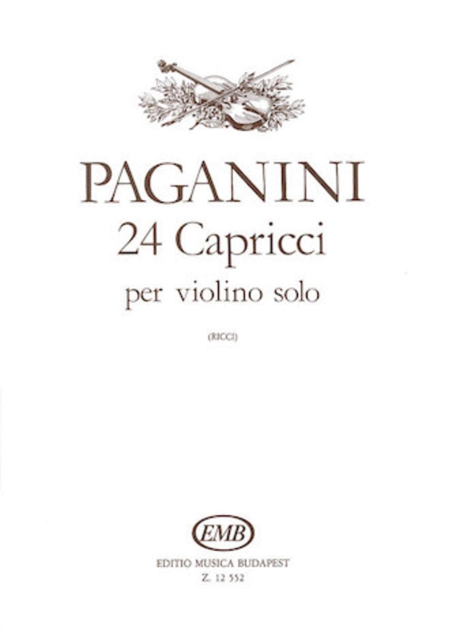 24 Capricci, Op. 1