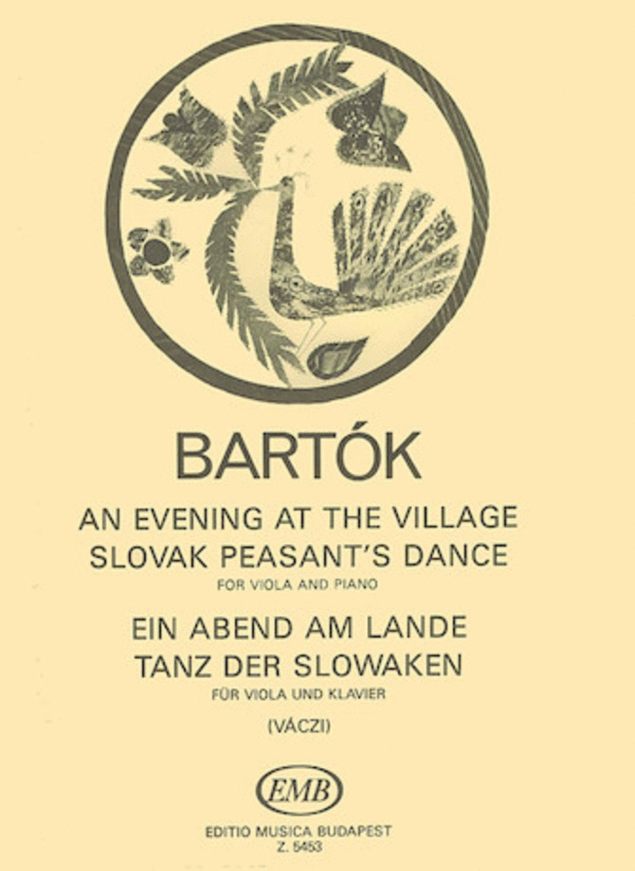 An Evening in the Village - Slovak Peasant's Dance