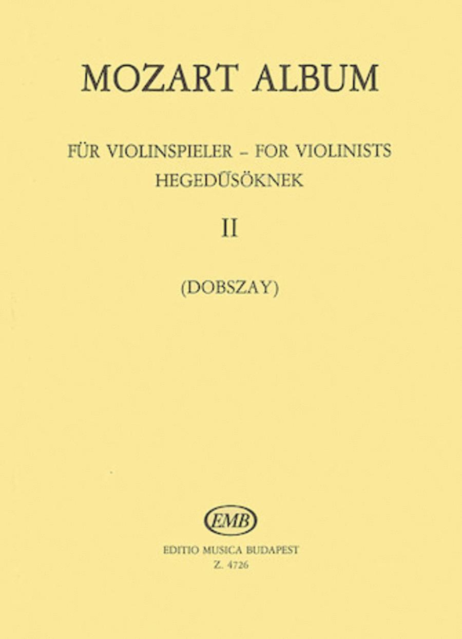 Album for Violin - Volume 2: Duos