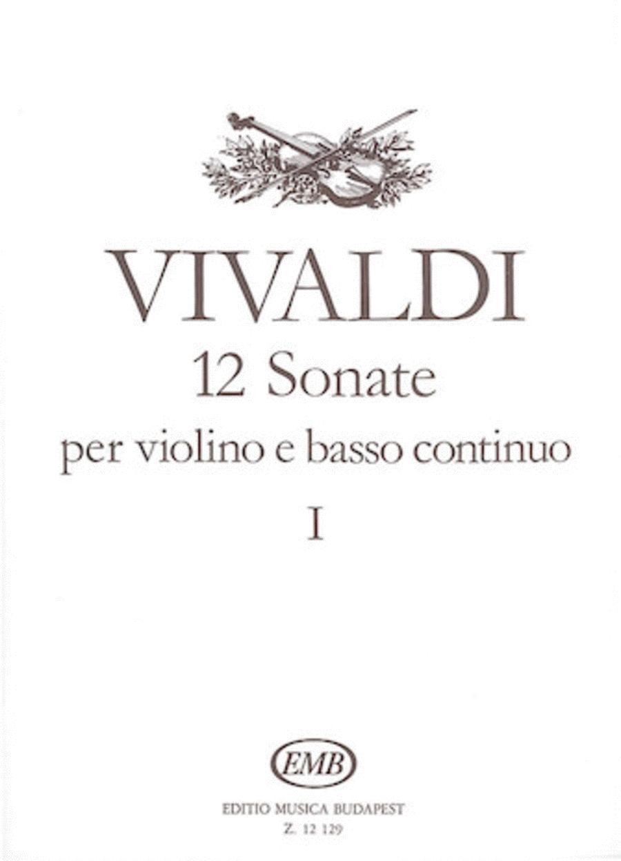 12 Sonatas for Violin and Basso Continuo - Volume 1