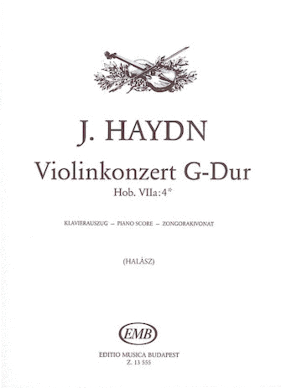 Violin Concerto in G major, Hob. Vlla:4