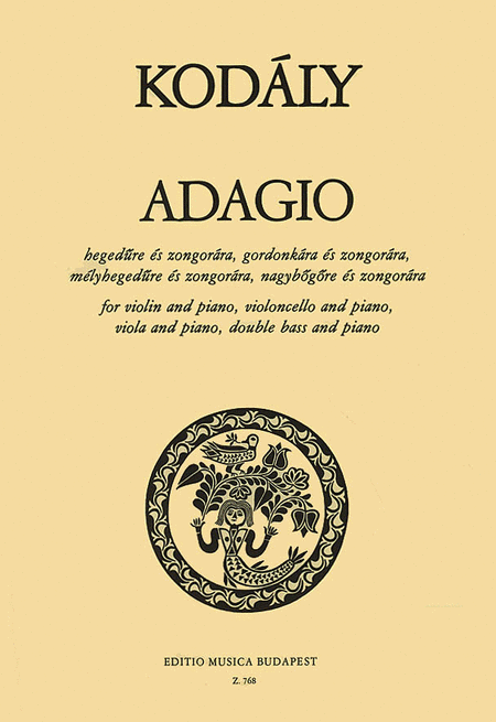 Adagio for Violin (viola, cello, or double bass) and Piano