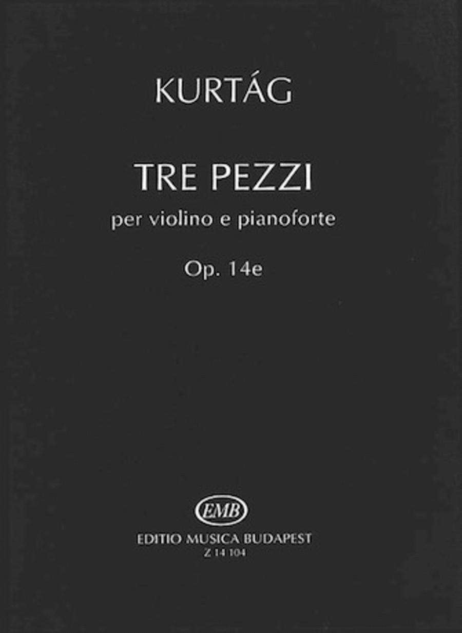 Three Pezzi, Op. 14e