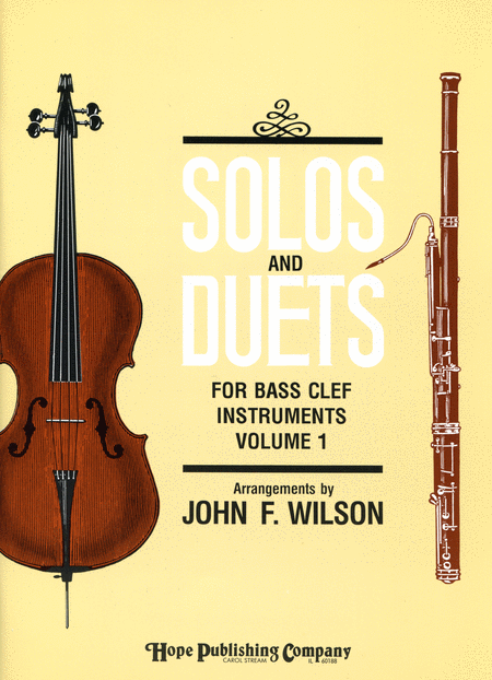 Solos and Duets - for Bass Clef Instruments (Volume I)