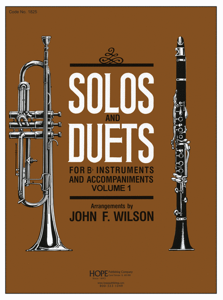 Solos and Duets - for Bb Instruments and Accompaniments (Volume I)