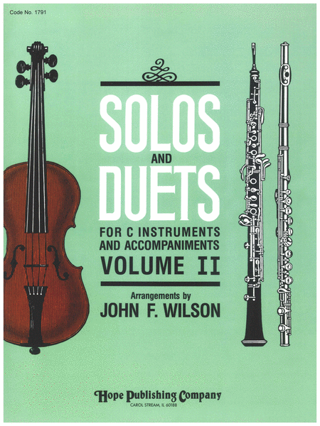 Solos and Duets - for C Instruments and Accompaniments (Volume II)