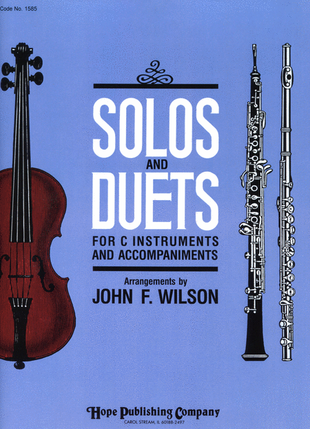 Solos and Duets - for C Instruments and Accompaniments (Volume I)