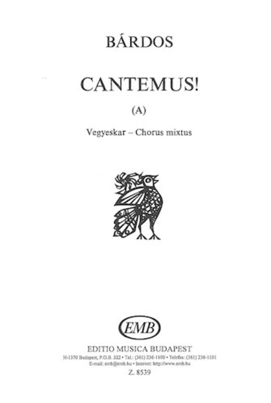 Cantemus (A) (to words by the composer)