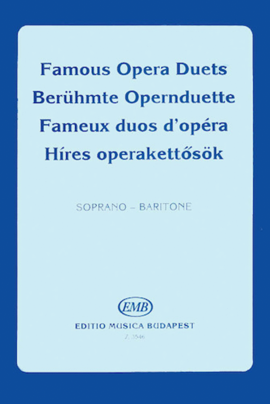Famous Opera Duets - Volume 2