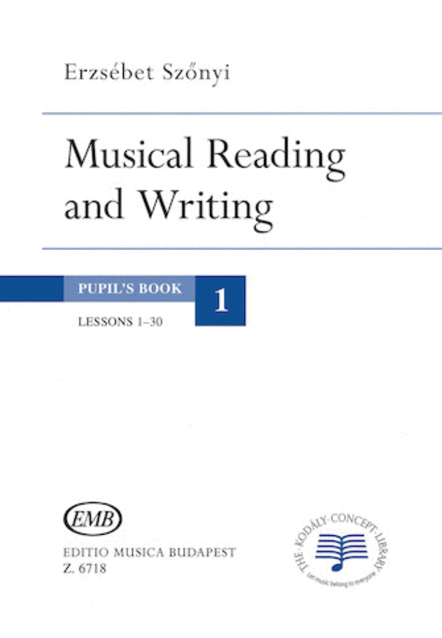 Musical Reading & Writing - Exercise Book Volume 1