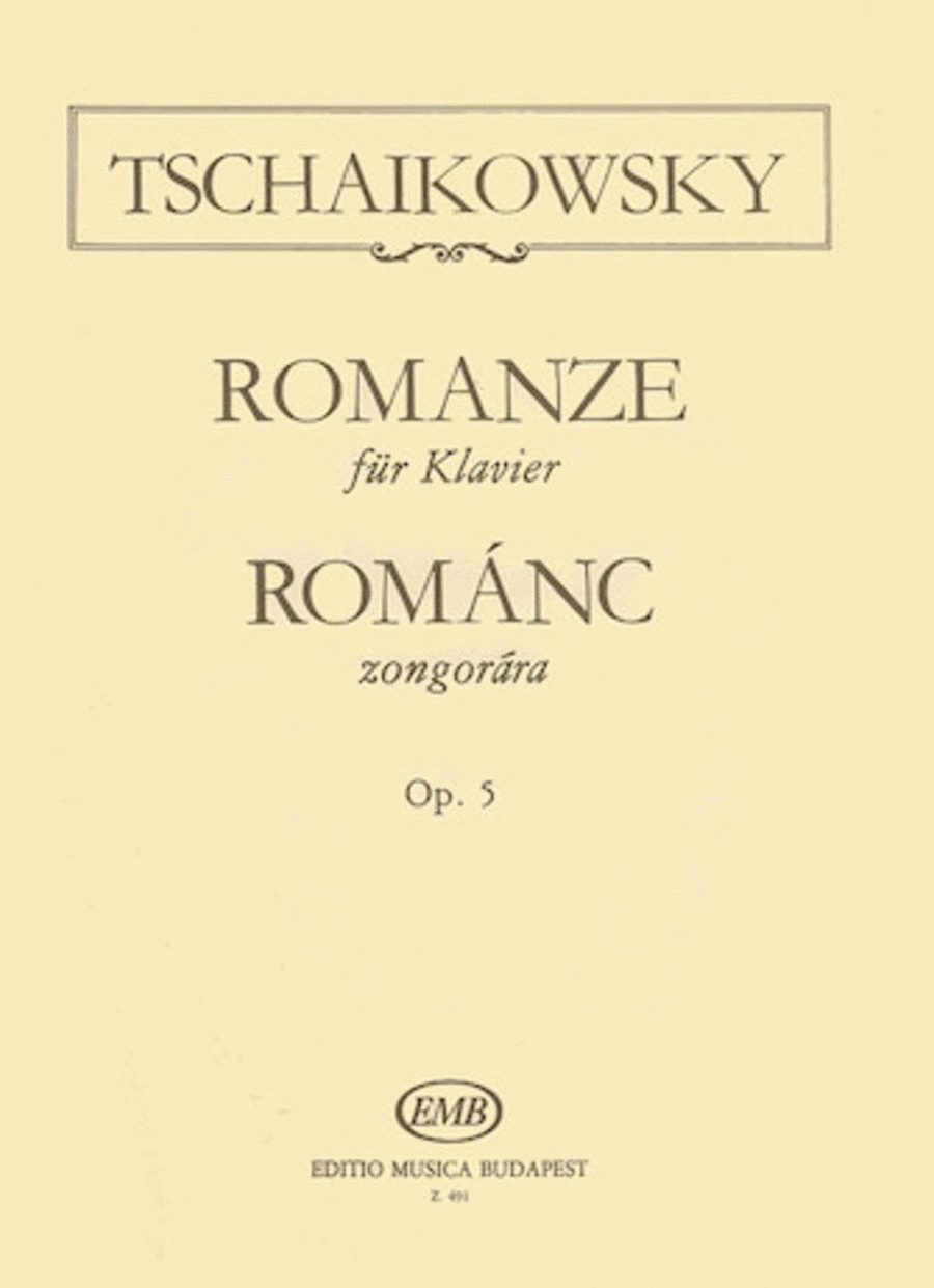 Romance, Op. 5